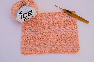 1 - Crochet Imagen Puntada para blusas y canesú muy facil y rapido por Majovel Crochet