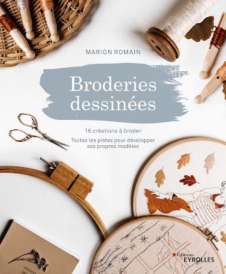 Broderie dessinées - livre Marion Romain