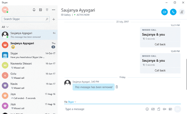 Remove Skype Chat History on Windows, Android, iOS, Mac, Web