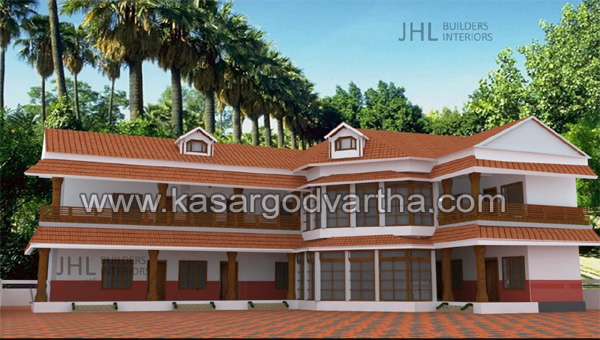 News, Kumbala, Kasaragod, Kerala, Guest-house, Temple,Guest House being built at Anantapur at a cost of half a crore rupees
