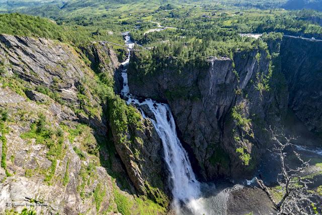 Vøringfossen - Noruega, por El Guisante Verde Project