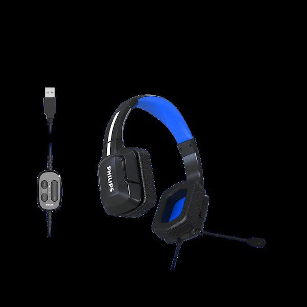 Qualidade de som e conforto nos primeiros headsets para gaming ultraleves da Philips