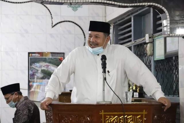 Bersama Tim Ramadhan Wako Solok Kunjungi Masjid Istiqamah Tanah Garam