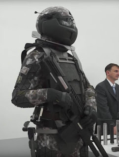 New Russian military combat suit