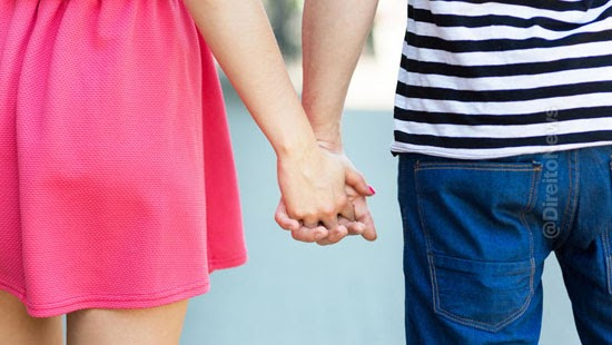 justica reconhece uniao estavel namoro qualificado