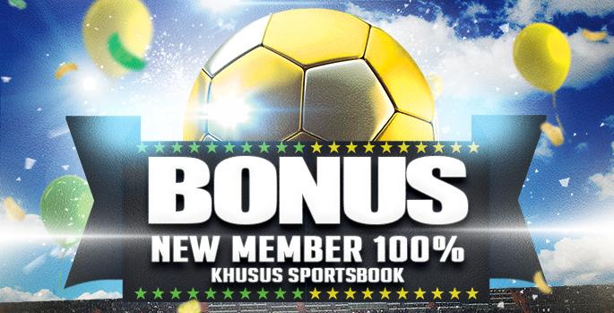 Bonus New Member 100% Sportsbook