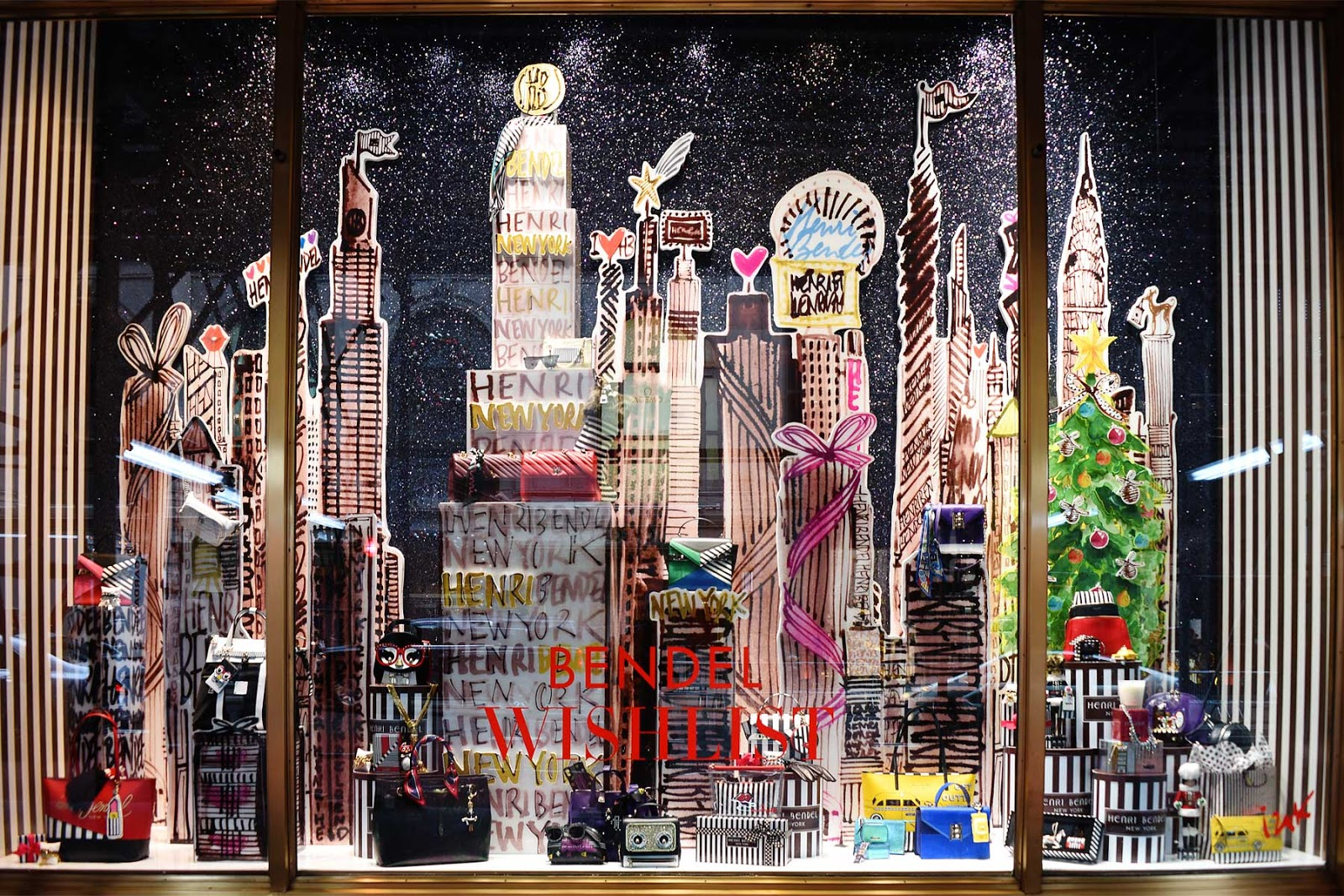 Henri Bendel Window 2018 New York Display