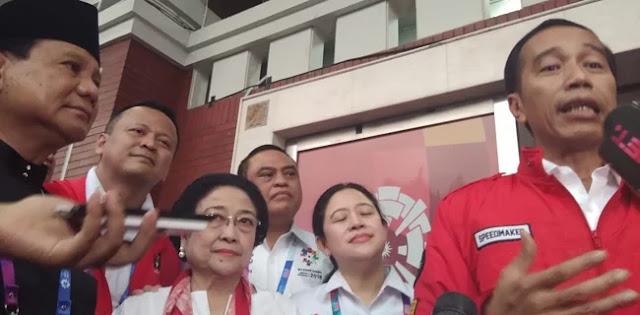 Borong Emas Pencak Silat, Jokowi: Terima Kasih Pak Prabowo