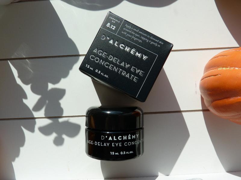 D'ALCHEMY AGE‑DELAY EYE CONCENTRATE najlepszy krem pod oczy