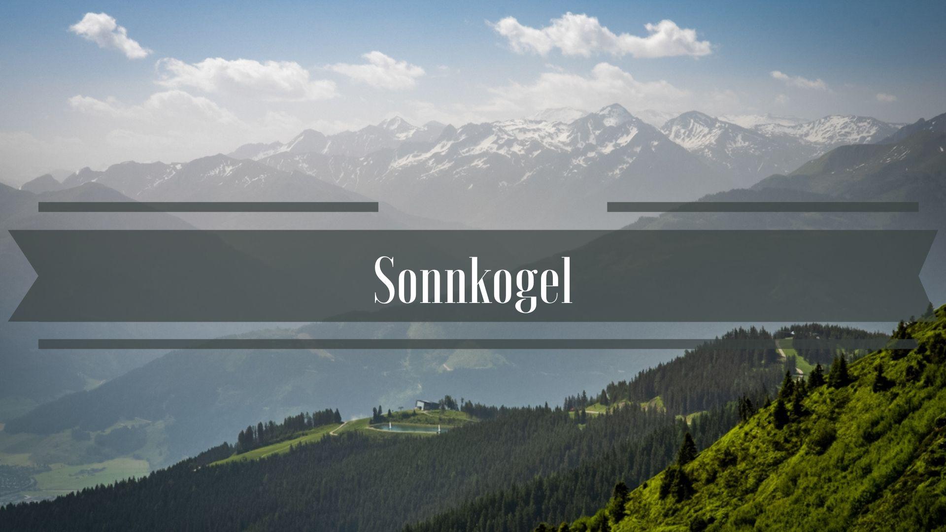Alpy Sonnkogel Schmittenhöhe Zell am See