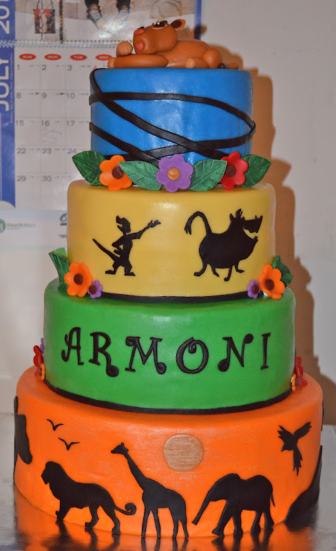 Lion King Baby Shower Cakes | www.imgkid.com - The Image ...