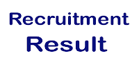 ESIC Associate Professor and Assistant Professor  RECRUITMENT RESULT