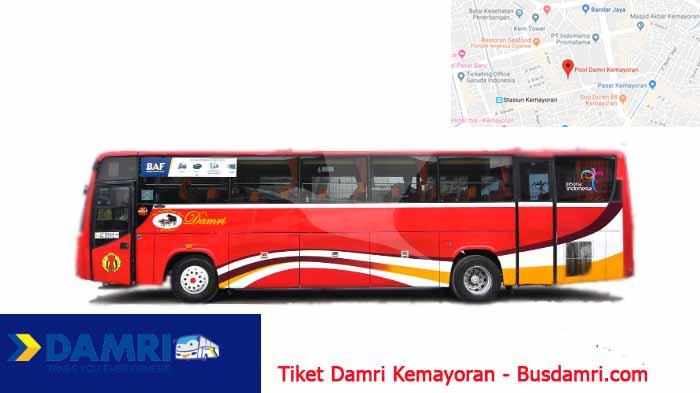 Tiket Damri Kemayoran Bus Dari Jakarta Ke Berbagai Tujuan Bus Damri