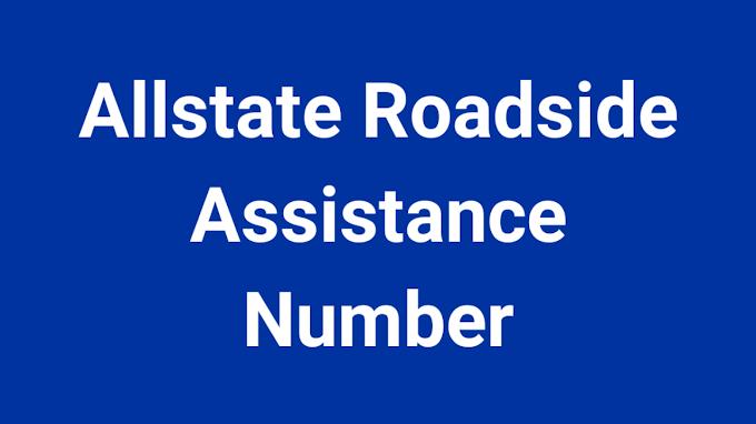 Allstate Roadside Assistance Number