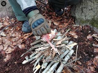 przygotowanie ogniska