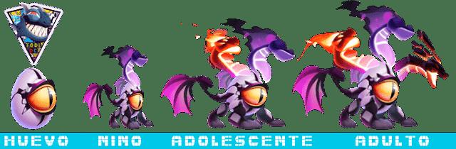 Etapas del Dragón Geist