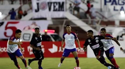 Bahia empata com Atlético de Alagoinhas