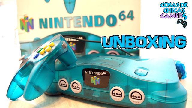 Unboxing retro N64