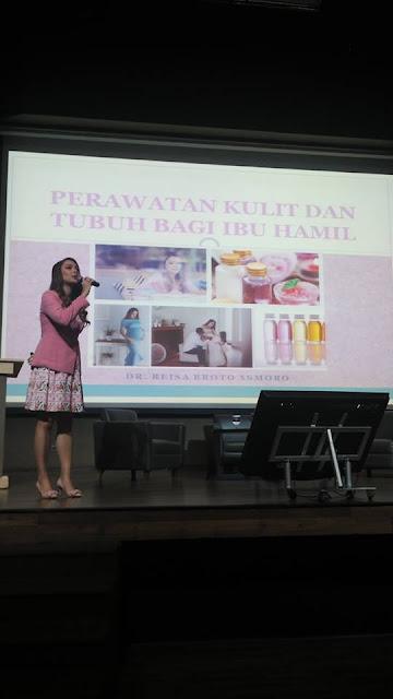 perawatan kulit dan tubuh ibu hamil