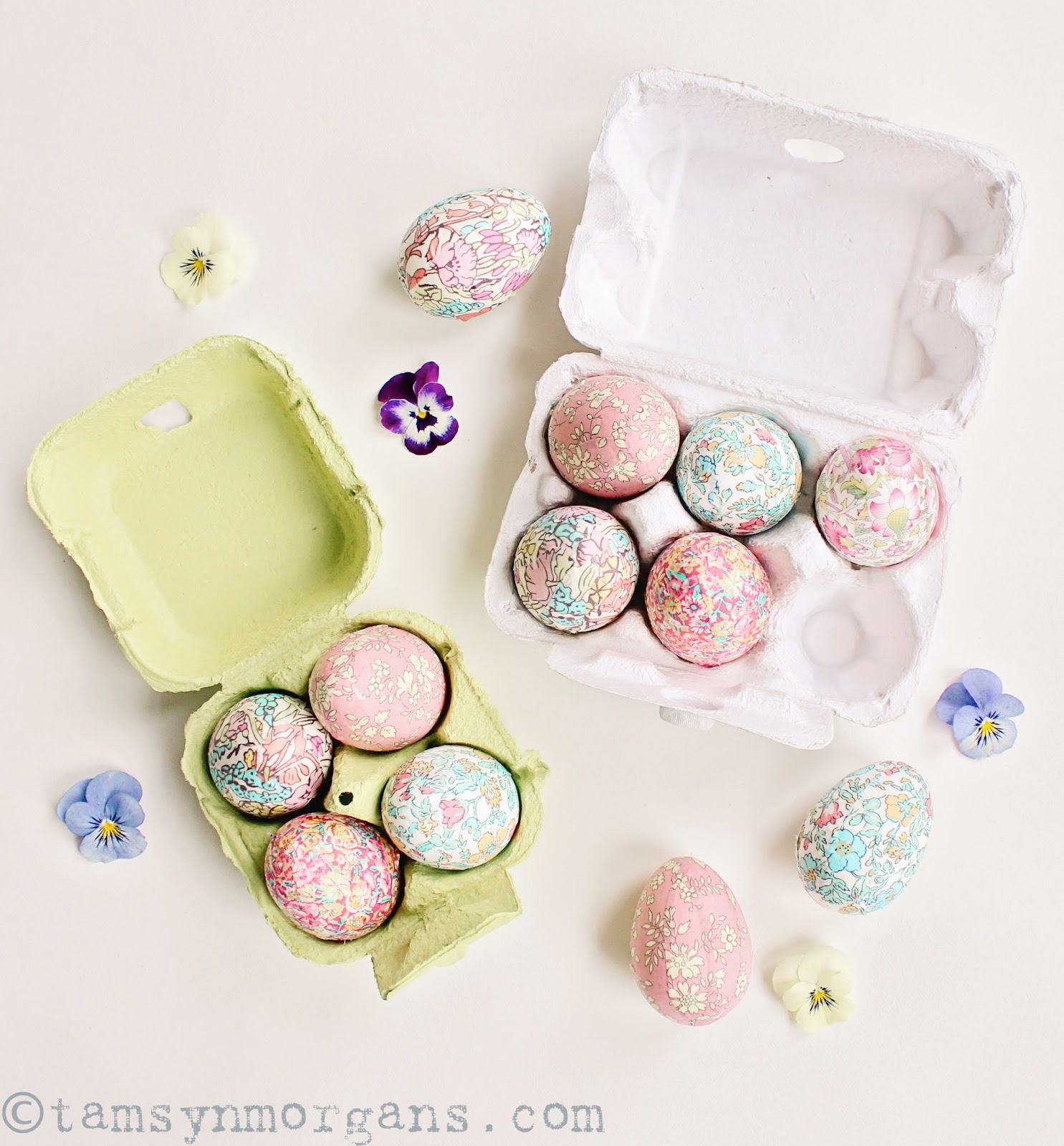 Liberty Print Eggs