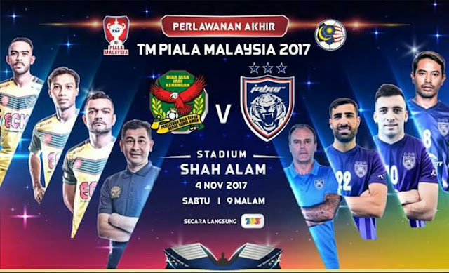 Live Streaming Kedah vs JDT 4.11.2017 Akhir Piala Malaysia