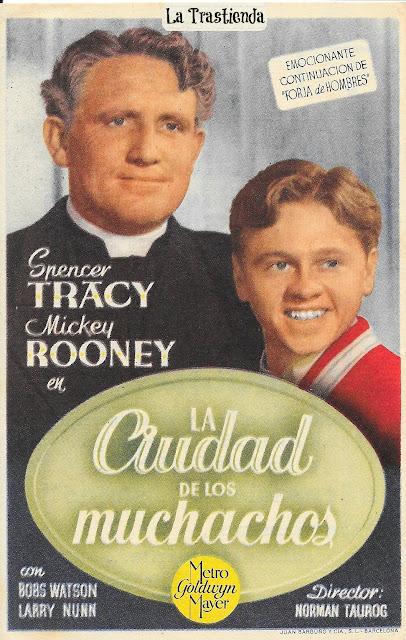 Programa de Cine - La Ciudad de los Muchachos - Spencer Tracy - Mickey Rooney