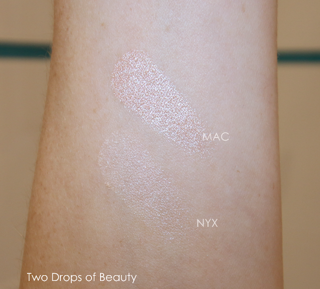NYX mosaic highlighter MPB01 compare