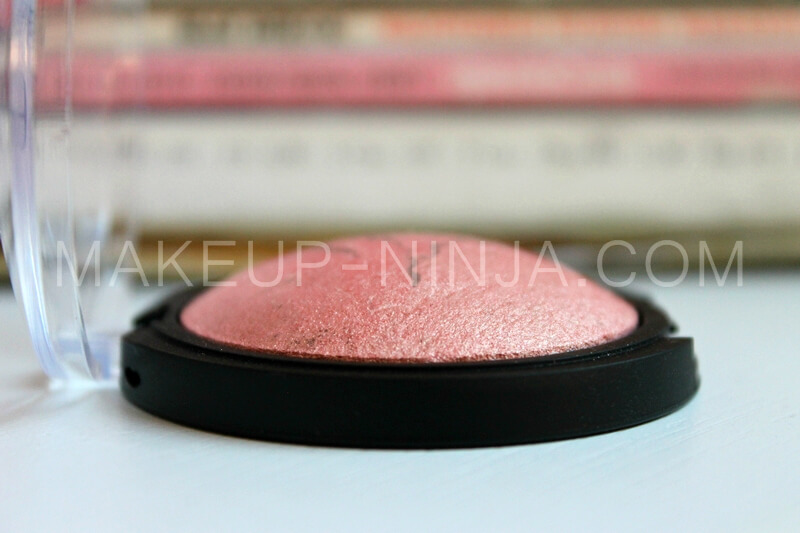 E.L.F. BAKED BLUSH PEACHY CHEEKY review recenzija