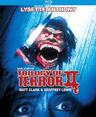 Blu-ray cover for Kino Lorber's Special Edition of TRILOGY OF TERROR II!