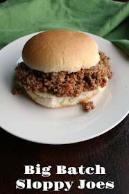 A big batch of sloppy joes is perfect for a party, family reunion or large gathering of any kind. This recipe is even better made in advance and is perfect reheated in a slow cooker or roaster.
