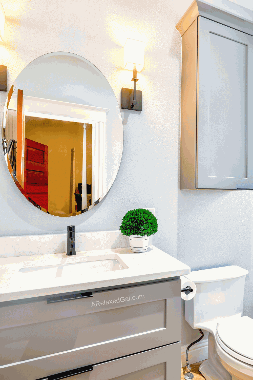 Easy Bathroom Updates On A Budget | A Relaxed Gal