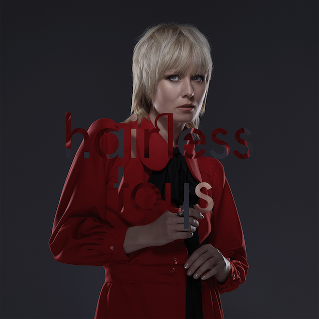 Róisín Murphy sur la cover de son nouvel album Hairless Toys