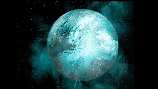 Moon exploded
