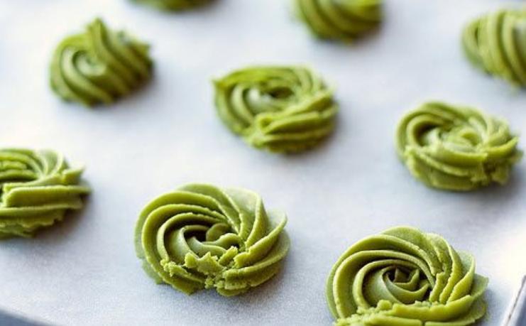 Resep Rahasia Kue Green Tea Cookies Yang Renyah