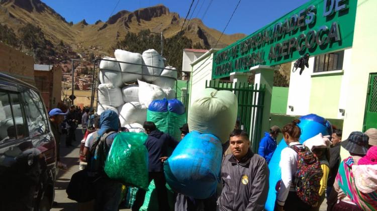 Hace una semana que los taques de coca van ingresando a la infraestructura hospitalaria / ARCHIVO EL PAÍS