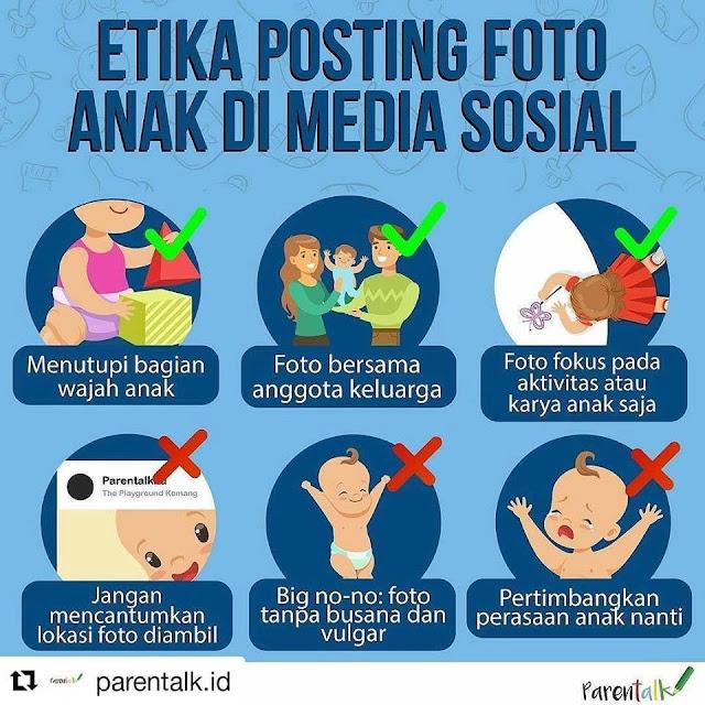 Suka Posting Foto Anak di Sosial Media? Ini Etika yang Harus Dipatuhi Orang Tua