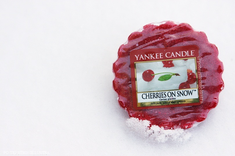 Yankee Candle Cherries On Snow, czyli jak pachną wiśnie na śniegu?