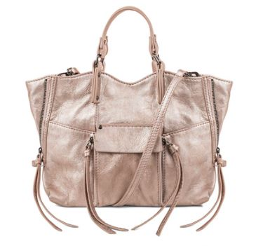 Kooba's  Everette Mini Crossbody bag in Copper Metallic