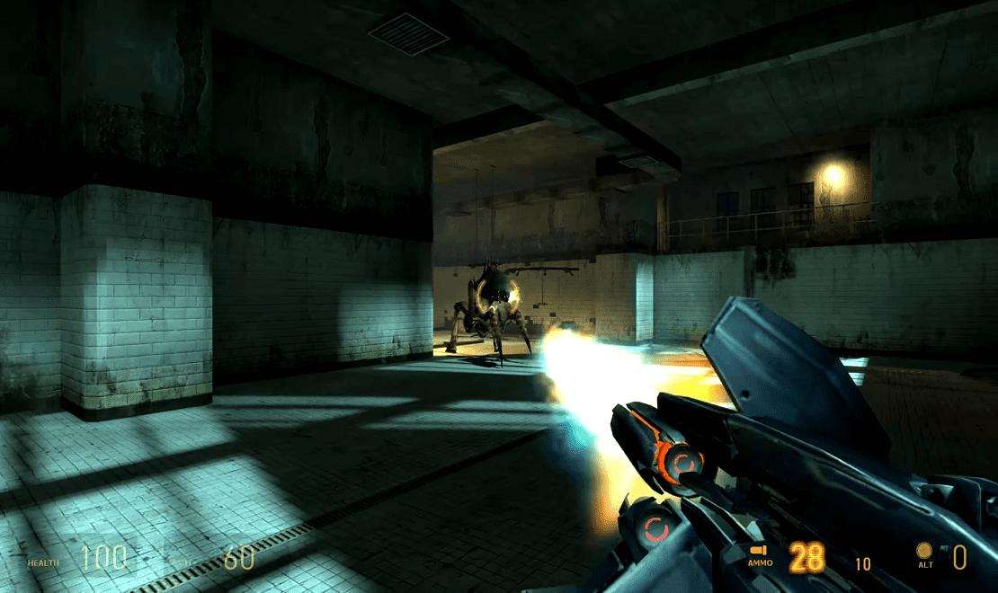 تحميل لعبة Half Life 2 مضغوطة من ميديا فاير