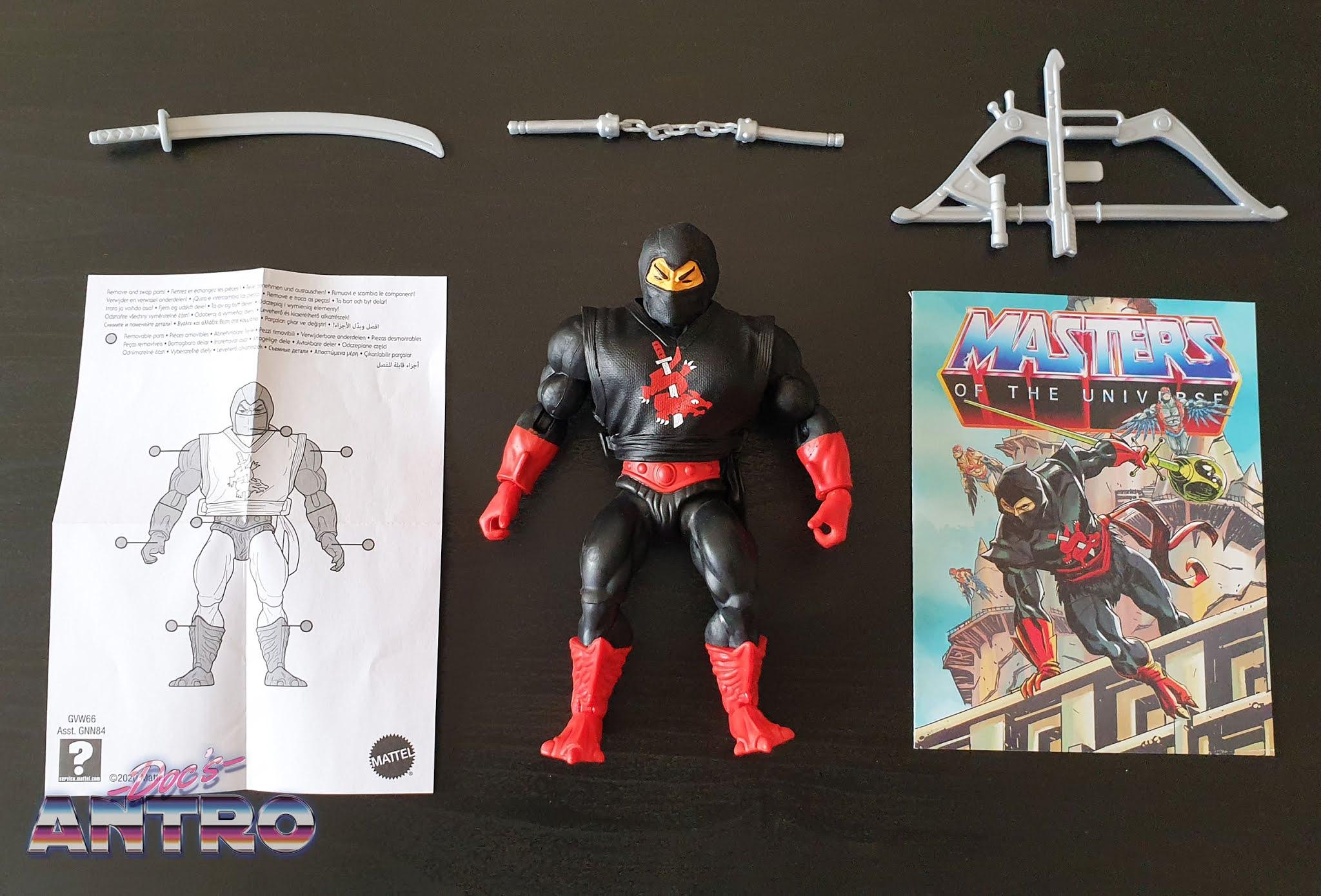 Masters of the Universe Origins Roboto Zodac Ninjor recensione