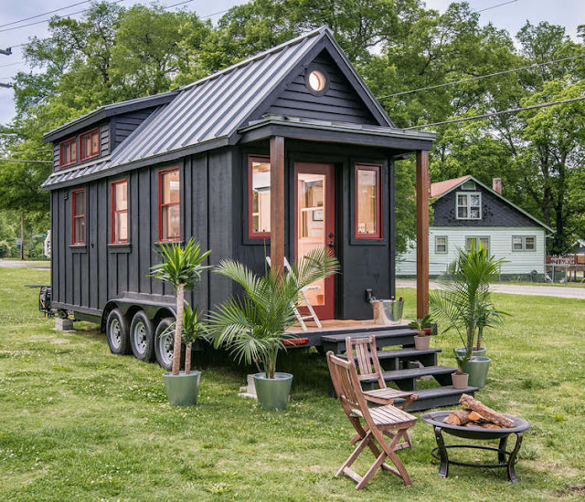 The Riverside by New Frontier Tiny Homes