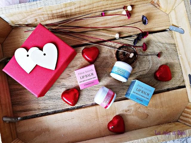 Bálsamos labiales de Alma Secret regalos san valentin beauty belleza cosmética natural besos
