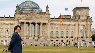 El expresidente de la Generalitat, Carles Puigdemont, en Alemania. (Reuters)