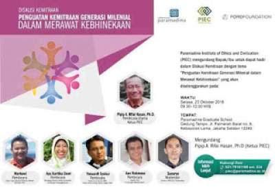 Undangan Diskusi Milenial Paramdina