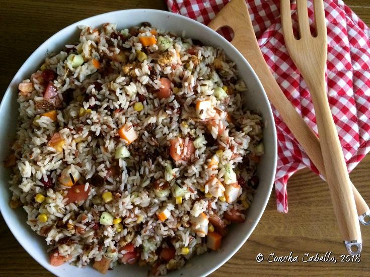 ensalada-arroz-salvaje-mesa