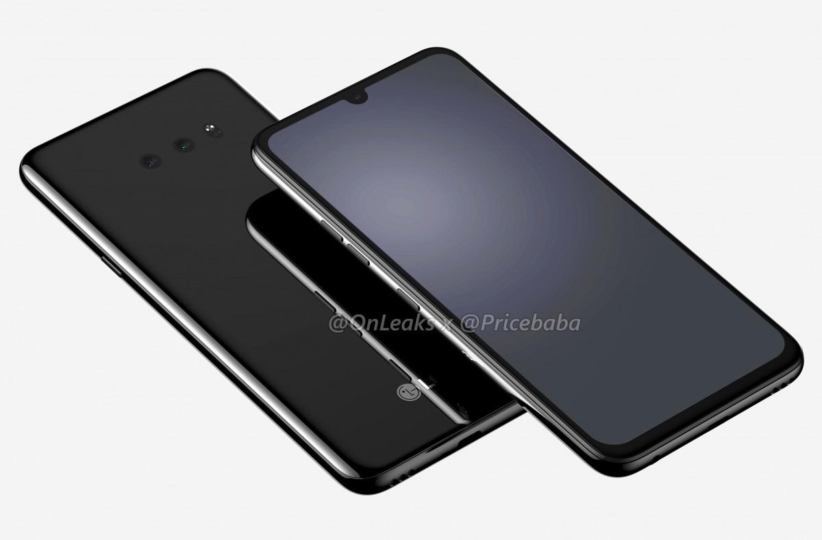 هاتف LG G8X تظهر لنا شاشة أكبر مع قطع أصغر، ومنفذ للسماعات في الجزء السفلي من الجهاز
