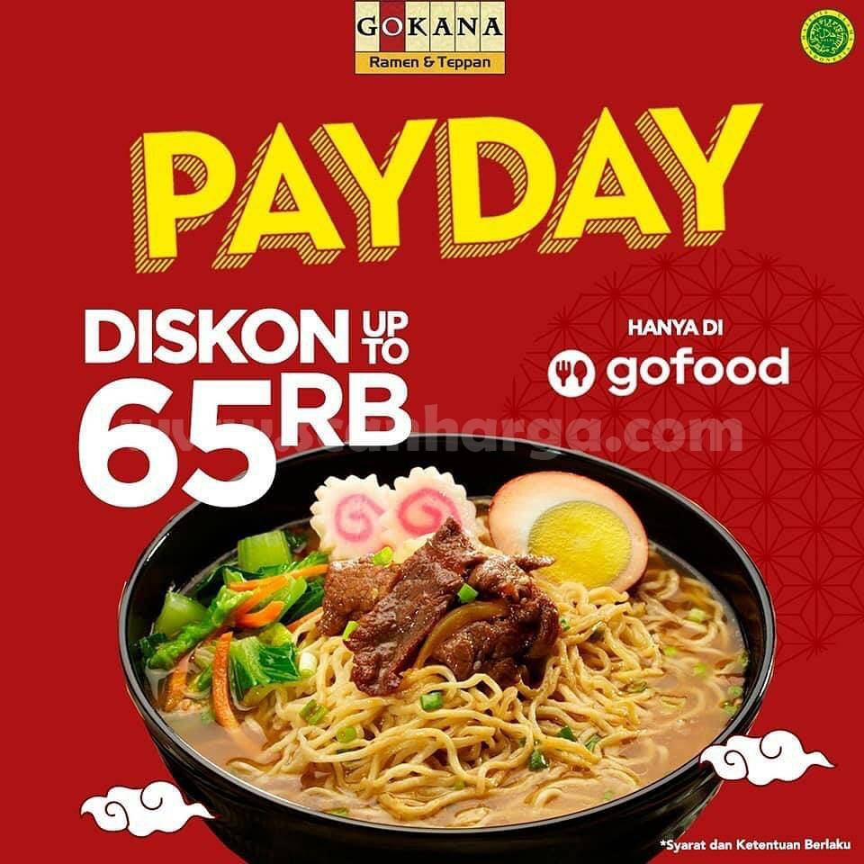 Promo Gokana Payday 25 - 31 Desember 2020
