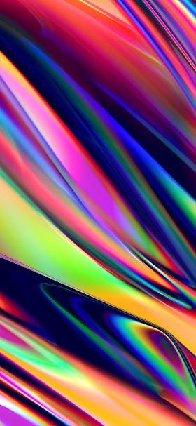 خلفية تداخلات تجريدية جميلة متعددة الألوان