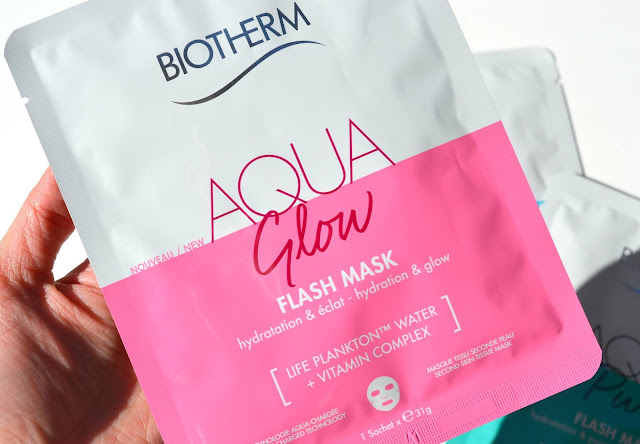 Biotherm Aqua Glow Flash Mask Review