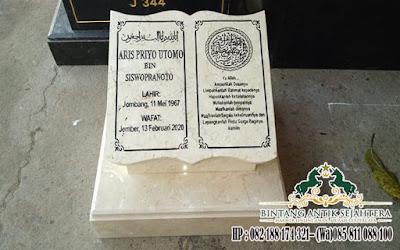Batu Nisan Marmer Tulungagung, Harga Nisan Marmer Modern, Batu Nisan Marmer Tulungagung
